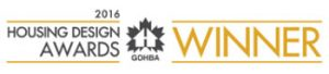 GOHBA housing design award