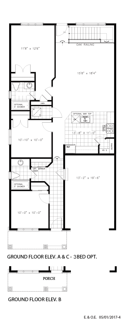 Ground floor - 3BD