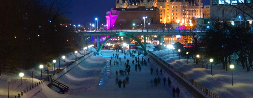 Winterlude night